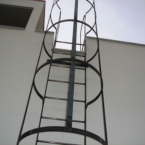 Escalera Metalica de Gato