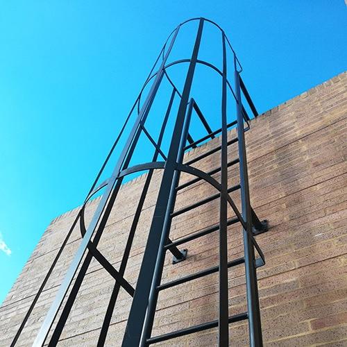 Normativa Escaleras Metalicas Industriales